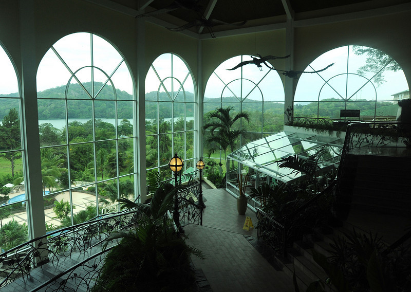 Interior of lobby, Gamboa Rainforest Resort