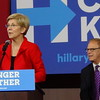 Ted Strickland At Hillary Clinton Campaign Rally With Elizabeth Warren In Columbus, OH
