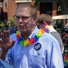Ted Strickland At Columbus Pride Parade In Columbus, OH