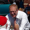 Ted Strickland At Portsmouth River Days Parade In Portsmouth, OH