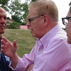 Ted Strickland At Ohio FOP BBQ In Independence, OH