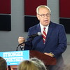 Ted Strickland At Hillary Clinton Rally In Cleveland, OH