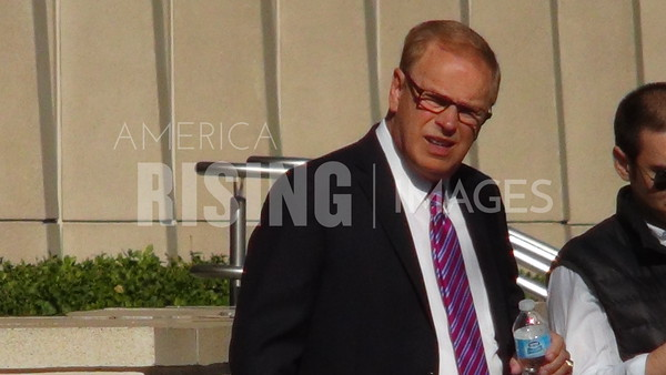 Ted Strickland At Plain Dealer Endorsement Meeting In Cleveland, OH