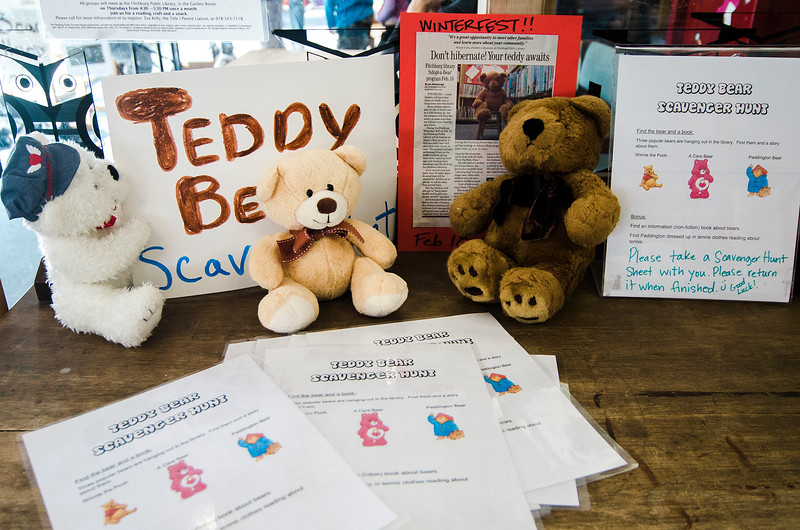 The Fitchburg Public Library held a teddy bear adoption for children on Saturday, February 18, 2017. SENTINEL & ENTERPRISE / Ashley Green