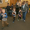 Song Time Fun and Stuffed Animal Parade was held at the Leominster Public Library Jodie Rachman who is known as Ukulele J. Everyone enjoyed the teddy bear parade at the program. SENTINEL & ENTERPRISE/JOHN LOVE