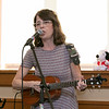 Song Time Fun and Stuffed Animal Parade was held at the Leominster Public Library Jodie Rachman who is known as Ukulele J. SENTINEL & ENTERPRISE/JOHN LOVE