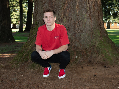 Ian's senior photos. Camas High School Class of 2019.
