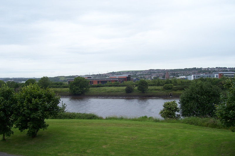 Picture by Liz:<br /> <br /> The view taken from off the Footbridge on the Newcastle bound side of the station