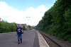 picture by Liz:<br /> <br /> The Ghost station Man caught in the act on Camera at Dunston