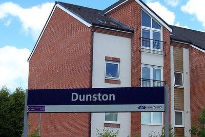 Dunston:  Liz Ghost Station # 4   GSM Ghost Station # 21   Address:  Dunston Railway Station Dunston Newcastle Upon Tyne Tyne and Wear NE11 9SS   Location Between Newcastle & Metro Centre stations   Northern Rail Timetable # 4  Getting there by Public transport:  Can either be done by train or best bet a bus from the Metro Centre will get you there in about 15 mins