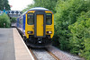 156 463 <br /> <br /> arrives into Dunston on the Parly service the<br /> <br />  14.44 Hexham - Nunthorpe. <br /> <br /> & i remember when we both got on this the Guard was well shocked <br /> <br /> that somebody had actually got on!!!!