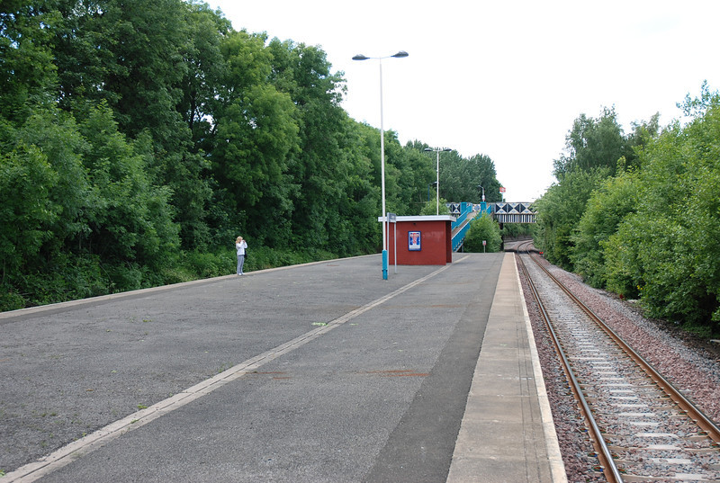 Looking towards Metro Centre / Hexham from the Newcastle Bound Platform