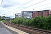 Pic by Liz:<br /> <br /> Manors Looking towards Morpeth from the Newcastle Bounsd platform