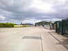 Once you get half way along the road level with the TNT warehouse which is to my right. <br /> <br /> There is this giant open space with a turning circle for the lorry's to get in and out of TNT