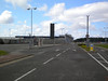 God only know why they gated this road off hence why I say it now <br /> <br /> makes Teesside Airport a proper Ghost Station because it has no real <br /> <br /> use what so ever