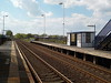 Looking towards Darlington soon after the train had gone
