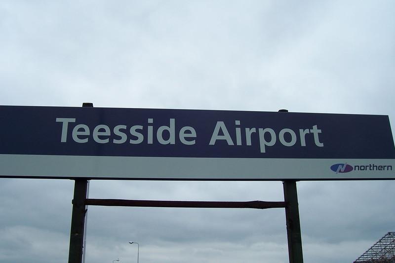 Teesside Airport:<br /> <br /> Liz Ghost Station # 1 <br /> <br /> GSM Station # 19<br /> <br /> Address:<br /> <br /> Teesside Airport <br /> <br /> Railway Station<br /> <br /> Darlington<br /> <br /> DL2 1NL <br /> <br /> Location: <br /> <br /> Between Eaglescliffe & Darlington <br /> <br /> Northern Rail Timetable # 3