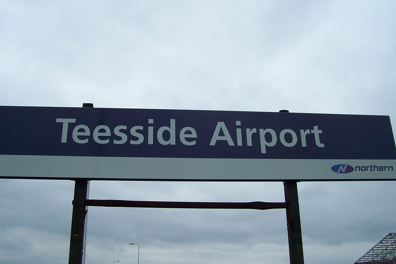 """Teeside Airport:<br /> <br /> Liz Ghost Station # 1 <br /> <br /> GSM Station # 19<br /> <br /> Address:<br /> <br /> Teesside Airport Railway Station<br /> Darlington<br /> DL2 1NL <br /> <br /> Location: Between Eaglescliffe & Darlington <br /> <br /> Northern Rail Timetable # 3<br /> <br /> A WORD OF CAUTION IF YOU THINKING OF DOING IT BY TRAIN!!!!! <br /> <br /> Just a quick WARNING i've done this station three times now once on my own in <br /> <br /> June 2007<br /> <br />  then again in<br /> <br />  October 2007 ( it was actually Liz's first Ghost station move and she got hooked after doing this one )<br /> <br />  when you get off the train it about a 1/4 mile walk to the Termainl but the Gate that i used to access the Car Park main terminal building the first time was Gated off by the time i got back there in the Oct 2007 with Liz and it a long walk from the station out to the MAIN ROAD  to have to walk back in on yourself see Ghost Station hunters Guide to what outside the Station Gallery<br /> <br /> LINK HERE <br /> <br /> <a href=""""http://www.theghoststationhunters.com/Teeside-Newcqstle-Ghost-staion/The-Ghost-Station-Hunters"""">http://www.theghoststationhunters.com/Teeside-Newcqstle-Ghost-staion/The-Ghost-Station-Hunters</a><br /> <br />  WARNING # 2 <br /> <br /> THERE IS NOW AS OF 2012 still no bus in 2014 as well <br /> <br /> NO SHUTTLE BUS SERVICE FROM THE AIRPORT TERMINAL TO DARLINGTON STATION <br /> <br /> &  ALSO <br /> <br /> THE ARRIVA # 12 BUS SERVICE THAT BOTH ME AND LIZ USED ON OUR PREVIOUS VISIT IN OCT 2007 <br /> <br /> IS ALSO NO LONGER RUNNING <br /> <br /> SO JUST THOUGHT I WOULD WARN PEOPLE BETTER OFF DOING AS IT IS AT MOMENT BY TRAIN OUT AND BACK BUT YOU DO HAVE THE 2 + HOUR FESTER IN BETWEEN THOUGH"""