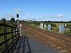 pic by Liz <br /> <br /> shot from the Darlington bound platform # 1 looking towards Darlington