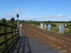 pic by Liz <br /> <br /> shot from the Darlington bound platform # 1 looking towards Darlington