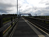 Picture by Liz <br /> <br /> Looking the length of plat 2 towards the Footbridge and Middlesbrough