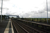 Teesside Airport <br /> <br /> Looking towards Middlesbrough and the next station down the line Allens West