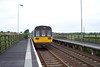 142042 is seen departing Teeside Airport heading for Darlington working the only Darlington bound departure all week!!