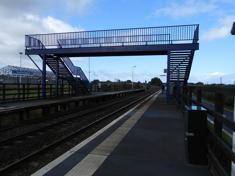 Pic by Liz <br /> <br /> Taken from Platform 2 looking the length of the station towards Darlington