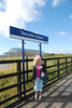 The usual station sign pic had to be done <br /> <br /> so Liz stands under the <br /> <br /> Teesside Airport sign <br /> <br /> This is where she started her Ghost Station Hunting with me way <br /> <br /> back 20 Oct 2007 and it was great to come back again<br /> <br /> Liz Ghost station # 1 <br /> <br /> Sat 20th Oct 2007 <br /> <br /> this was her 2nd visit here <br /> <br /> We plan to come back in Oct 2017 for our 1oth Anniversary so watch <br /> <br /> this space