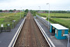 Shot of the station from the Footbridge looking towards Darlington