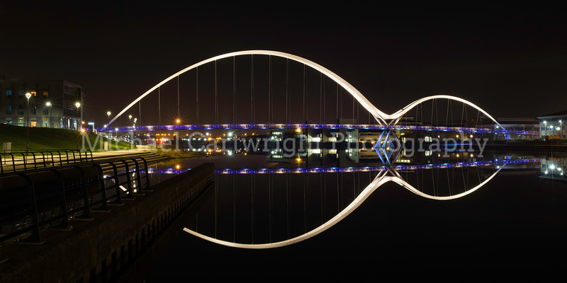 Calm Reflection, Infinity Bridge