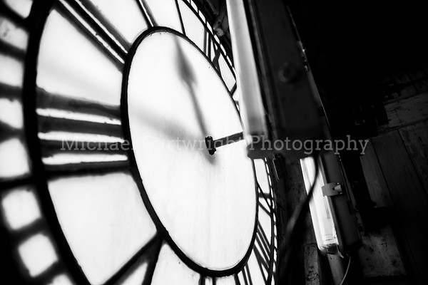 Yarm Town Hall Clock, From The Inside