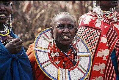 Maasai naine  Maasai woman - Ngorongoro