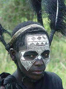 Maasai teismeline  Maasai boy - Tarangire