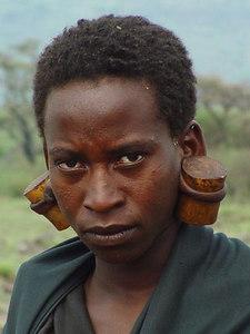 Maasai teismeline  Maasai boy - Ngorongoro