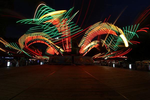 Octopus light show