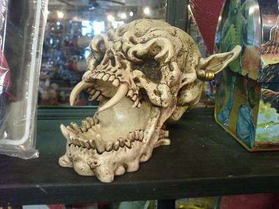 Orcish skull