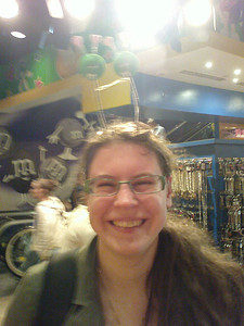 Susanne in the M&M paradise