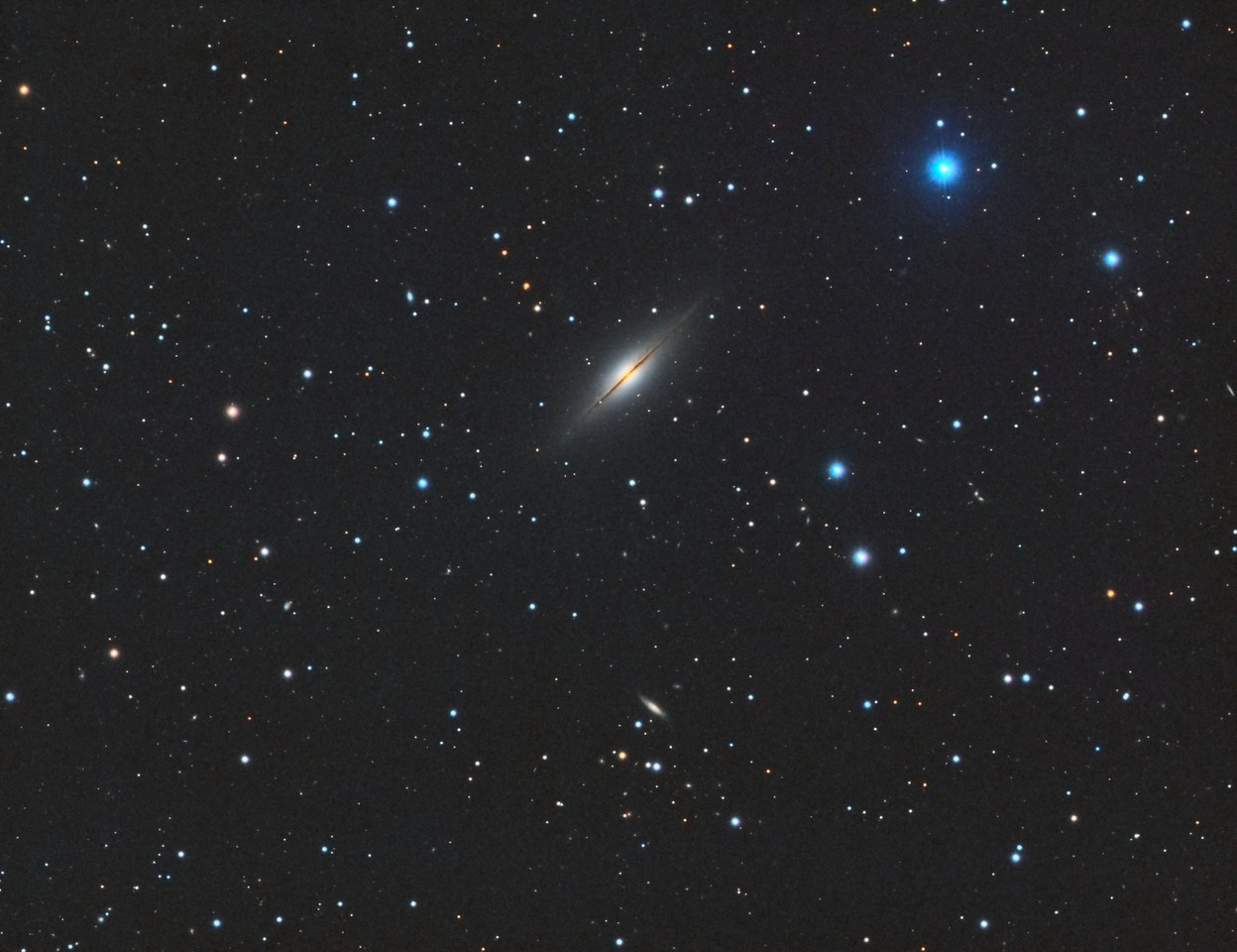 NGC7814 Little Sombrero Galaxy