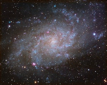 Tamed version of M33, Triangulum Galaxy