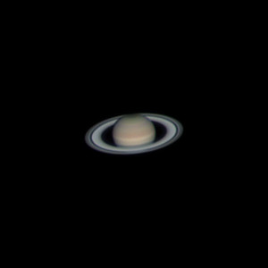 Saturn: June 12, 2015  TEC 140, 4X PowerMate, ASI120MC-S color camera.   Stacked 10% of about 11500 frames. Frame rate was about 33 FPS. 65% to 75% histogram. Gain was between 95 and 100. I am very impressed with my TEC 140 scope being able to magnify to 3920mm focal length. Used PixInsight to adjust/boost color saturation, contrast and brightness.  Captured with FireCapture. Used dark subtraction and ROI of 512x512 during capture. Single 6 minutes video. Stacked, RGB Aligned, Sharpened and Drizzle 1.5X with AS!2. Color balance with Registax.