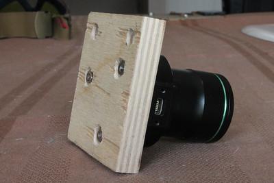 Prototype using plywood.