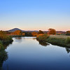 The Wrekin and river Severn viewed from Cressage.