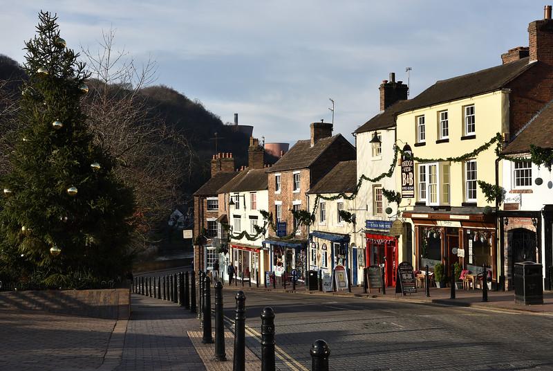 High Street, Ironbridge.