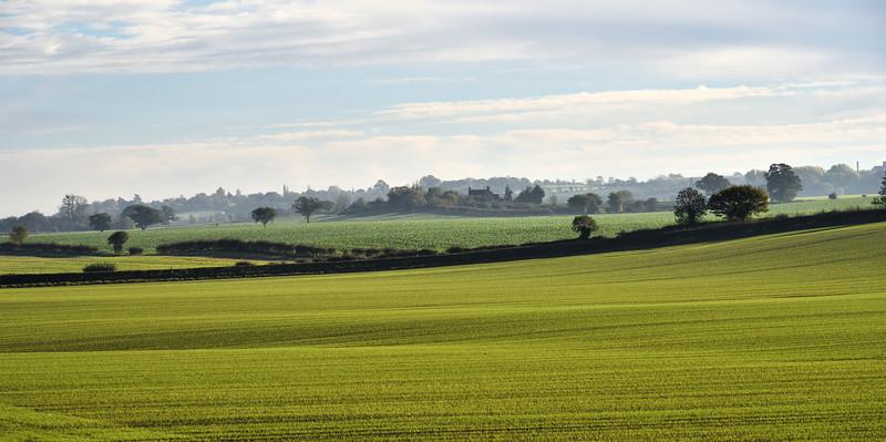 Farmland at Walcot.