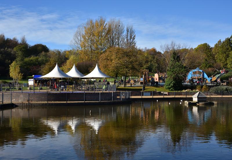 Telford Town Park.