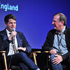 Writer Graham Moore talks during The Imitation Game Q/A