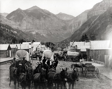 2004-01-283: Colorado Avenue in Telluride, Colorado 1884
