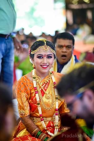 Telugu Wedding   Mumbai   2018 - Pradakshinaa