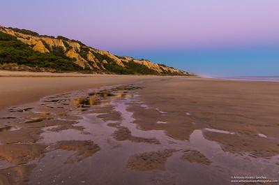 Esplendoroso atardecer en Mazagón / Glorious sunset on the beach of Mazagon